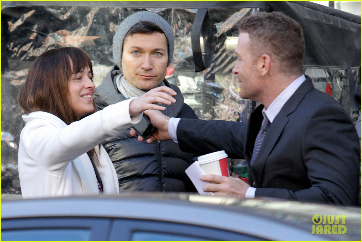 dakota johnson shoots fifty shades scenes with max martini 10