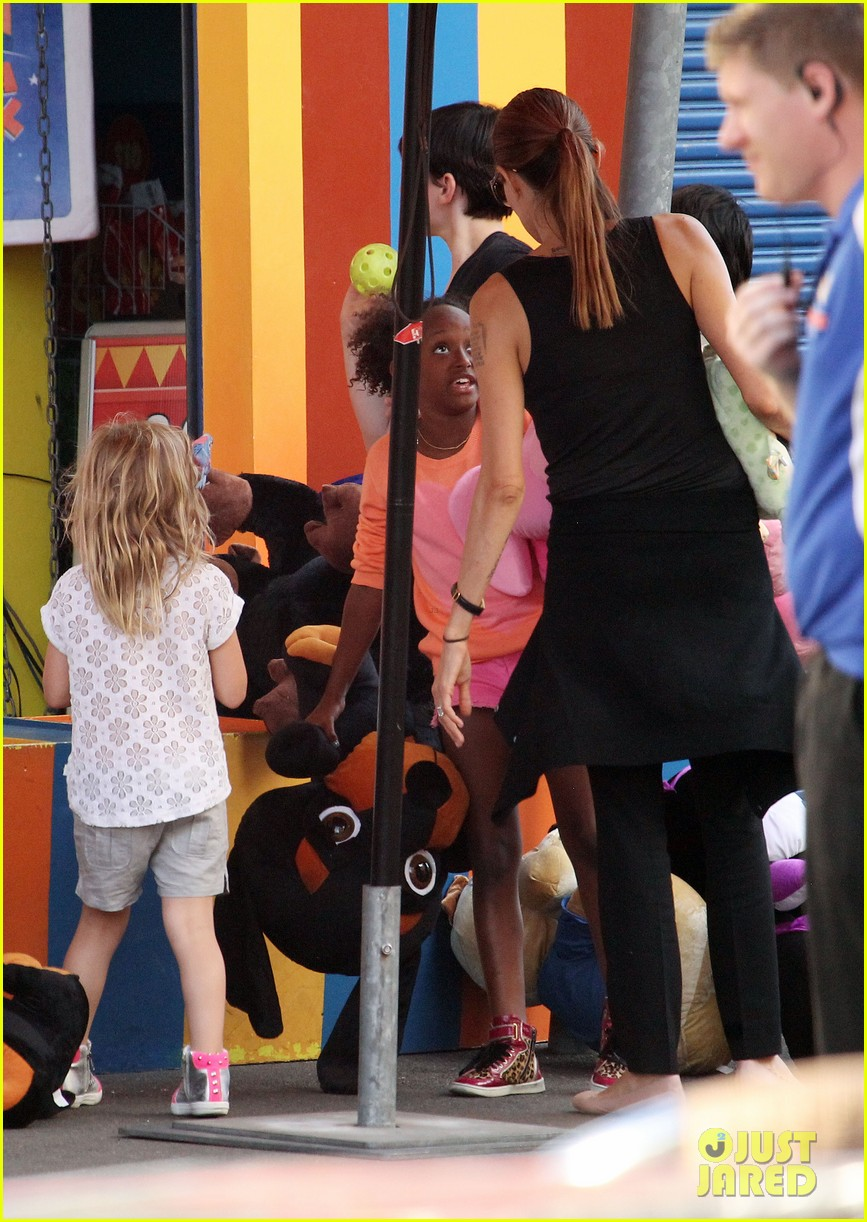 angelina jolie luna park fun with the kids 523024425