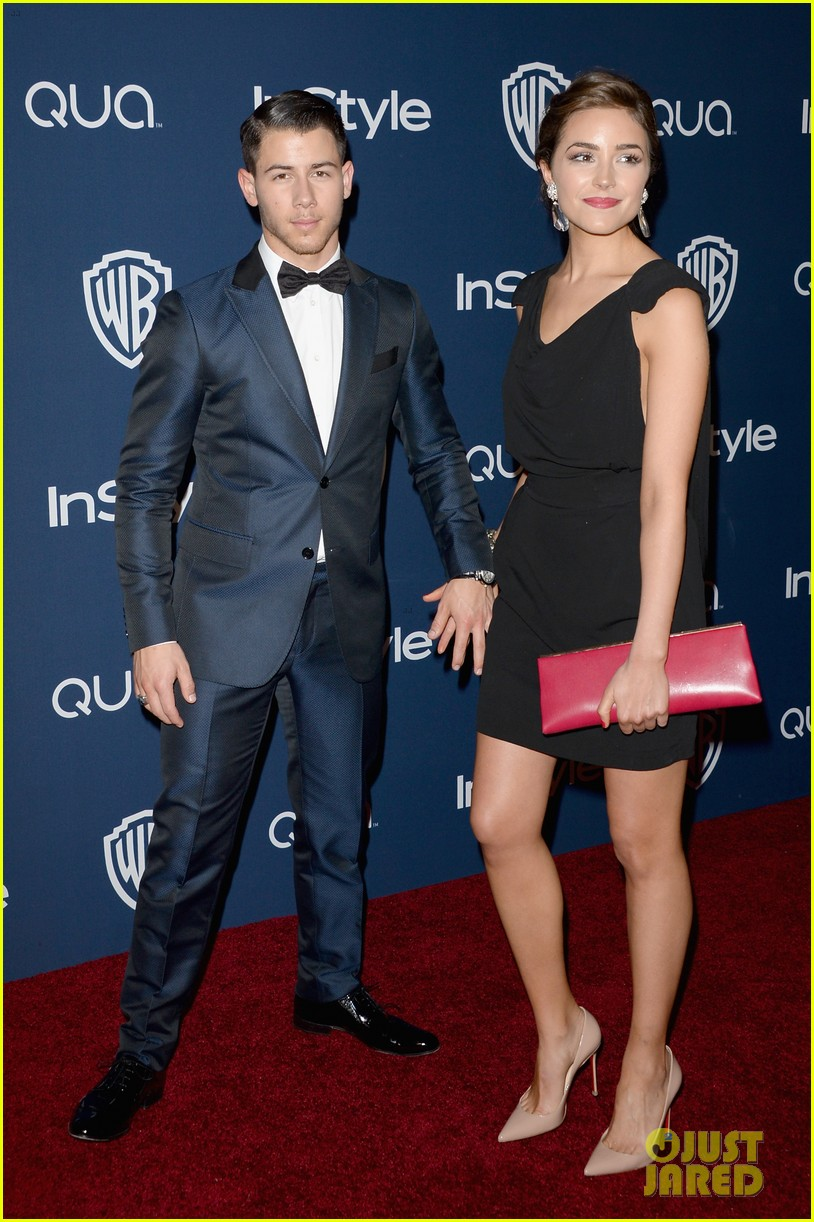 joe nick jonas bring girlfriends to golden globes parties 2014 033030188