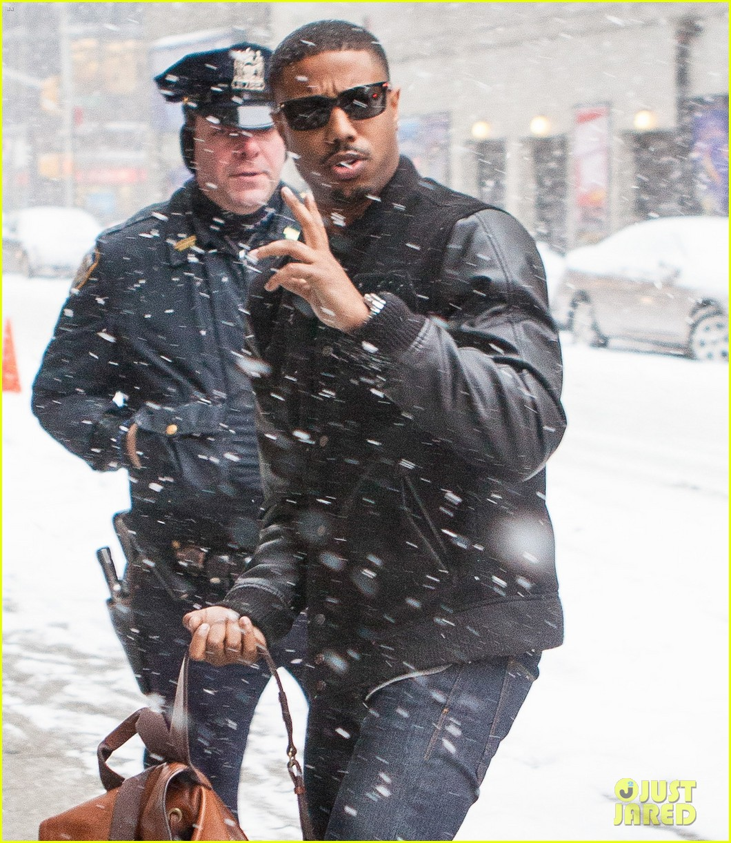 michael b jordan late show with david letterman visit 083037578