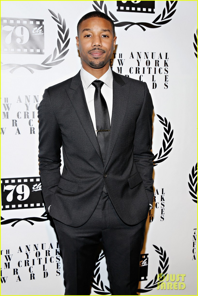 michael b jordan presents at nyfcc awards with fruitvale station co stars 01