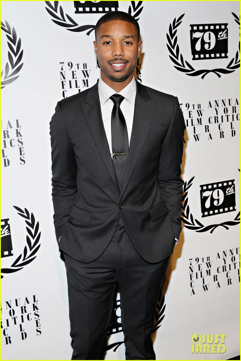 michael b jordan presents at nyfcc awards with fruitvale station co stars 08