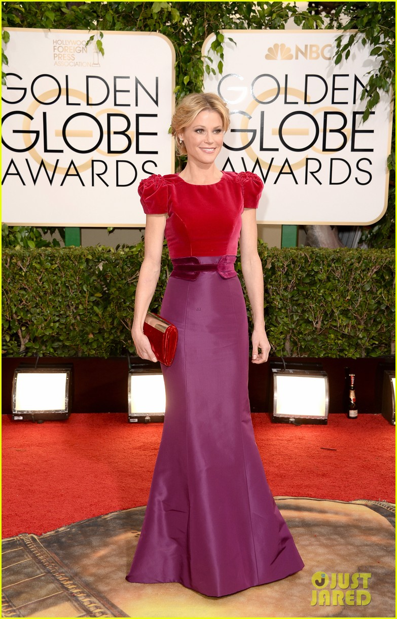 julie bowen golden globes 2014 red carpet 053029464
