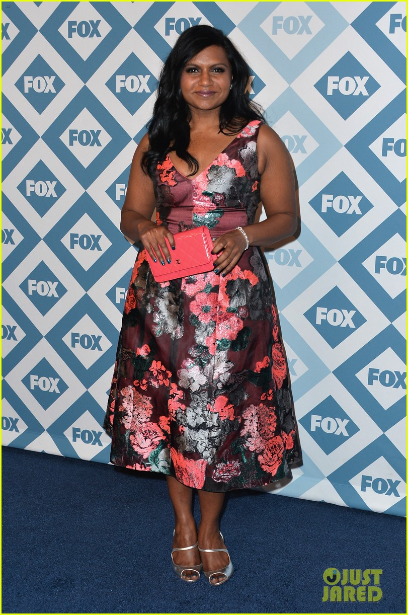 mindy kaling judy greer fox all star party 2014 023031007