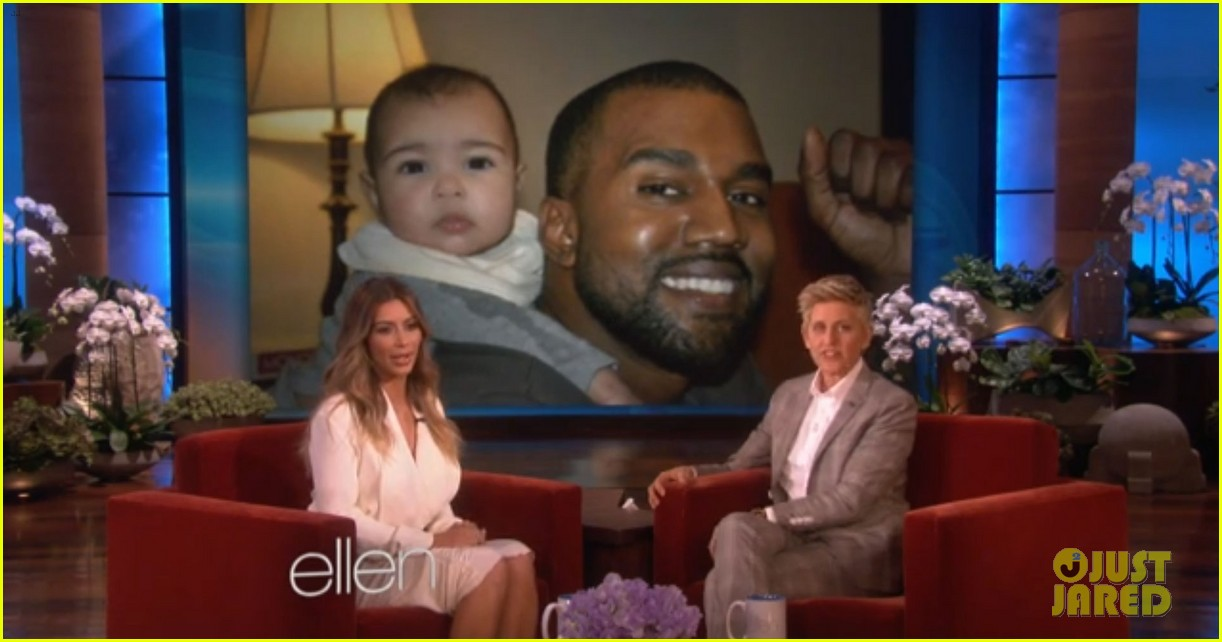 kim kardashian shares adorable new baby north west photos 033033273