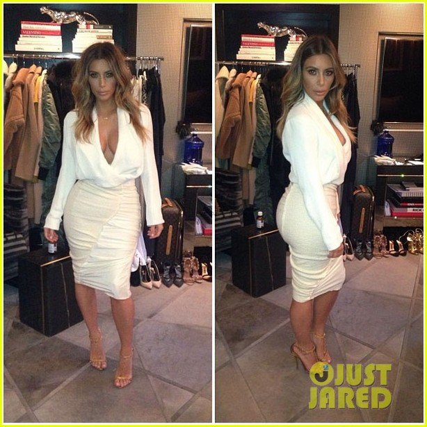 kim kardashian shares adorable new baby north west photos 07