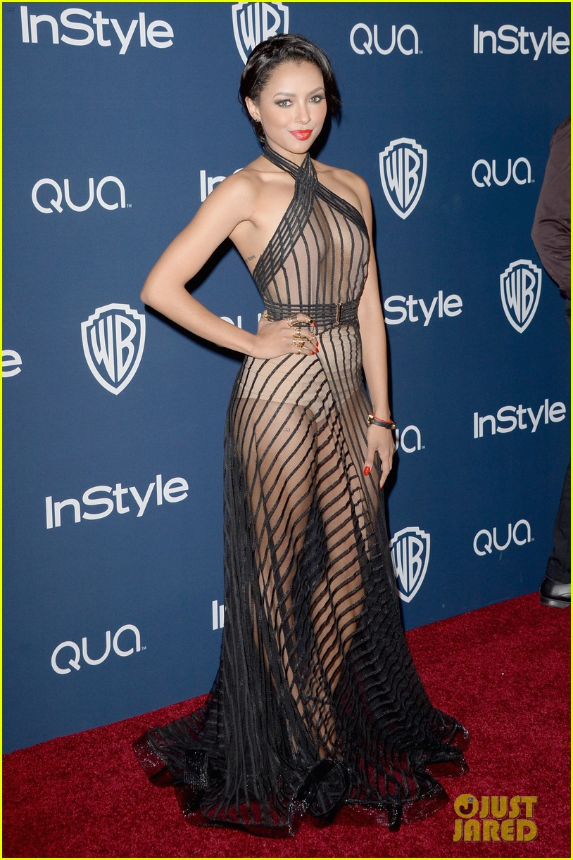 kat graham sheer golden globes claire holt 013030213