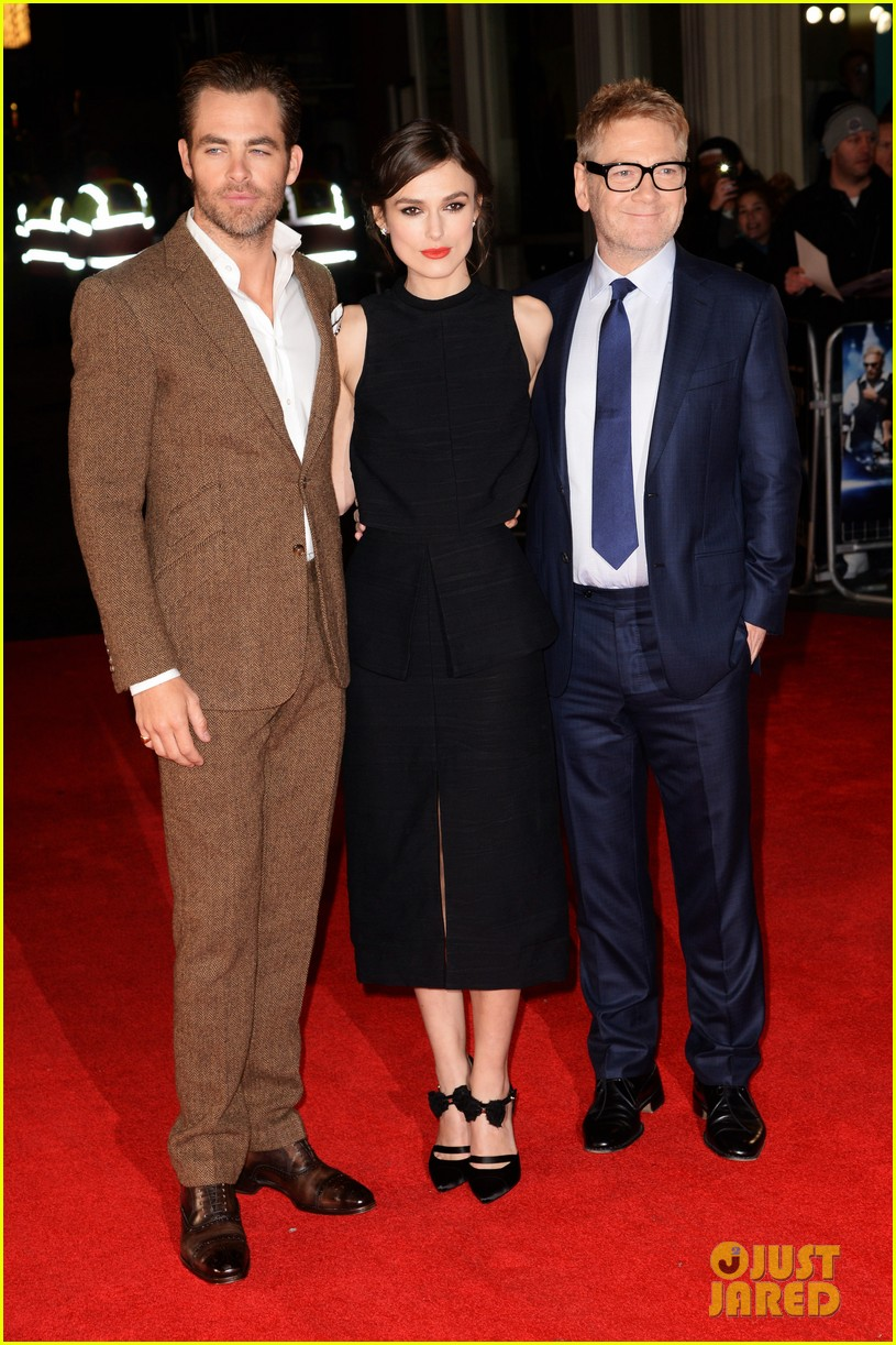 keira knightley chris pine jack ryan uk premiere 013036403