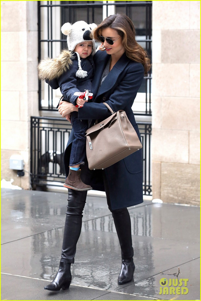 miranda kerr takes flynn to orlando blooms on his 3rd birthday 01