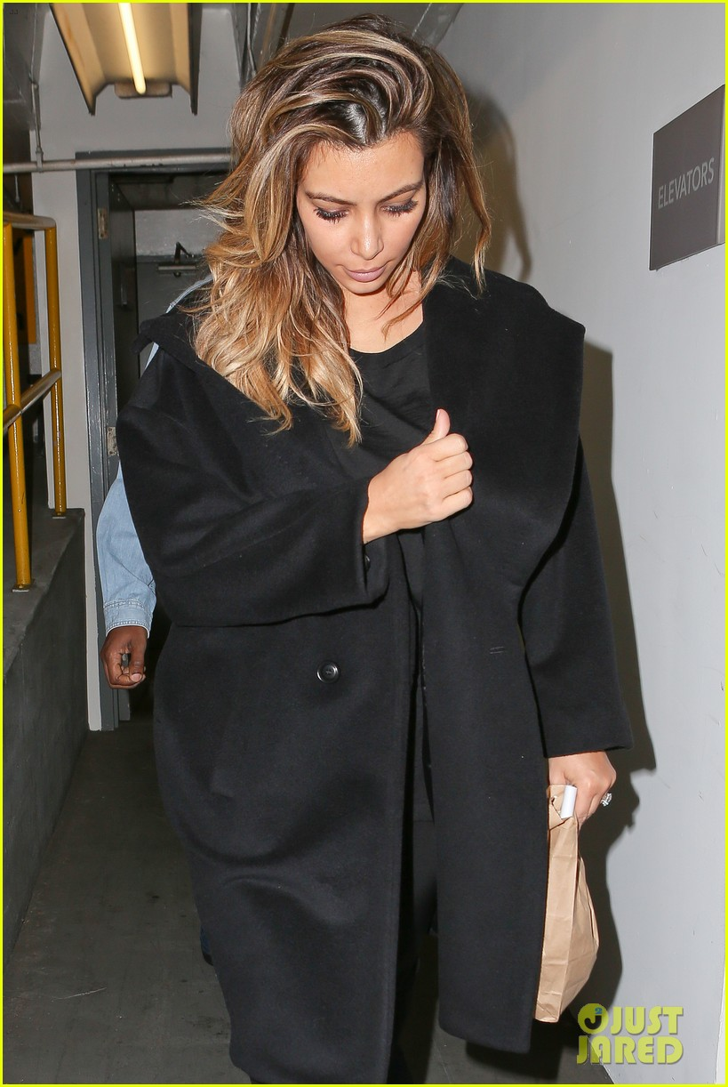 kim kardashian kanye west early morning doctor visit 10