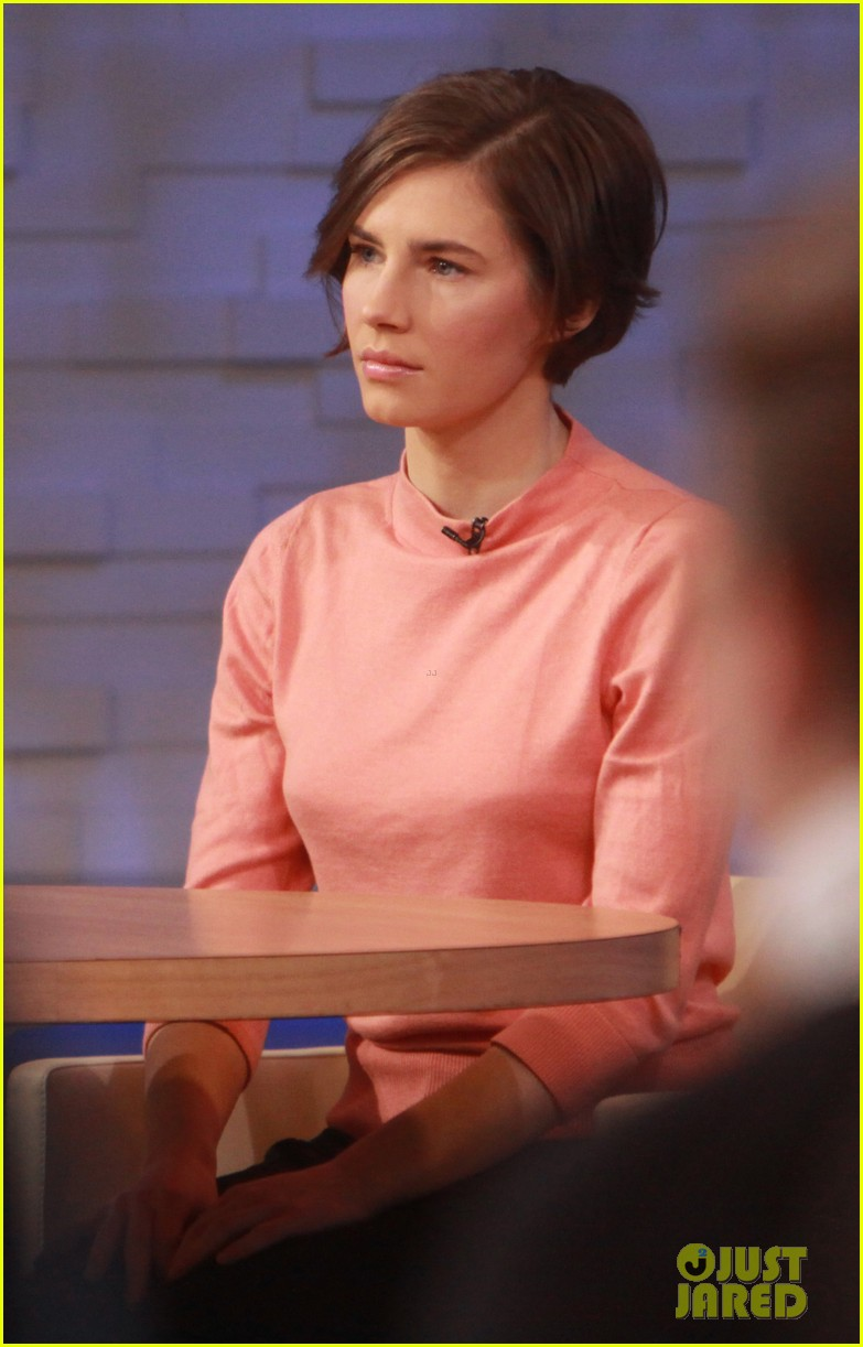 amanda knox on gma i will never go back to italy 07