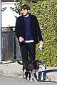 ashton kutcher mila kunis monday morning dog walk 12