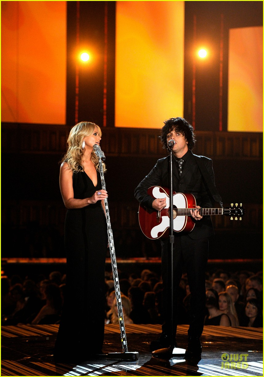 miranda lambert billie joel armstrong when i will be loved at the grammys 2014 video 01