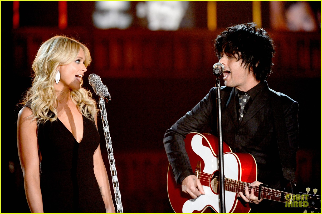 miranda lambert billie joel armstrong when i will be loved at the grammys 2014 video 08