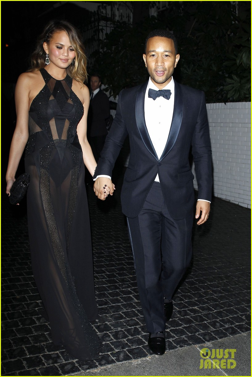 john legend chrissy teigen grammys 2014 after party 093041932