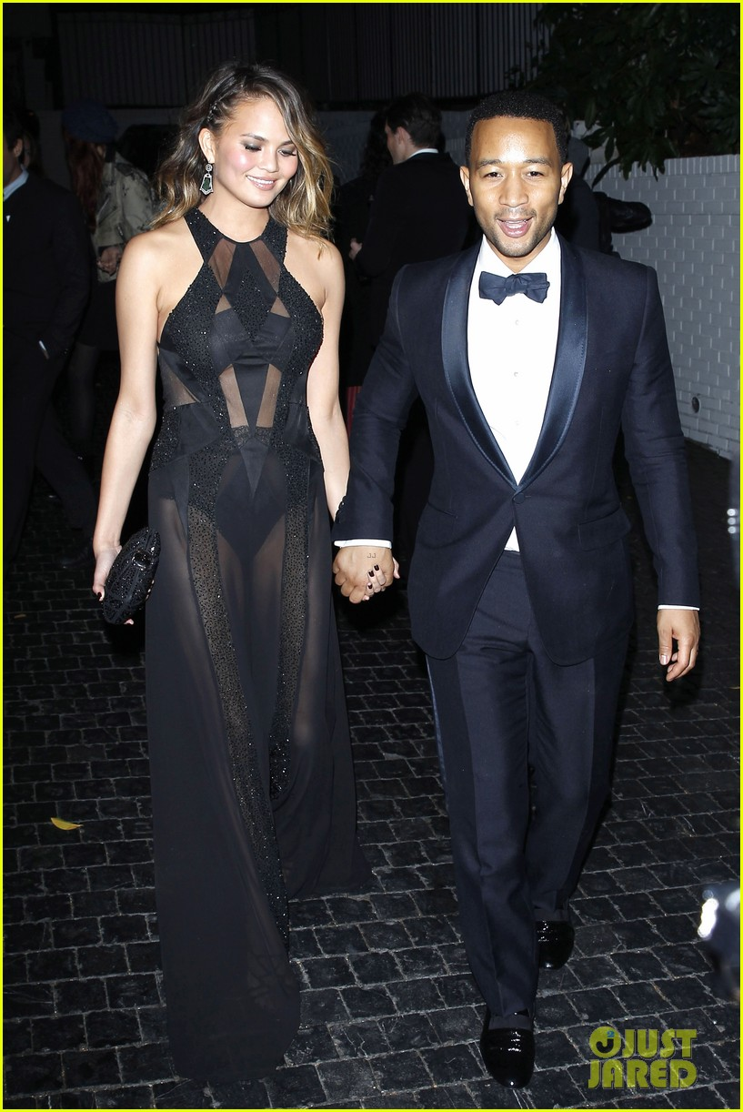 john legend chrissy teigen grammys 2014 after party 103041933