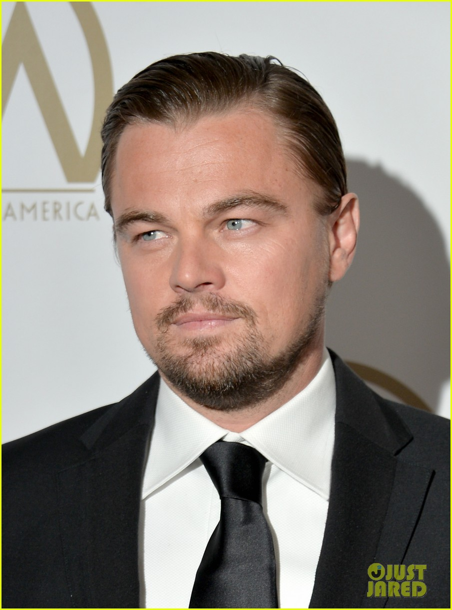 leonardo dicaprio producers guild awards 2014 01