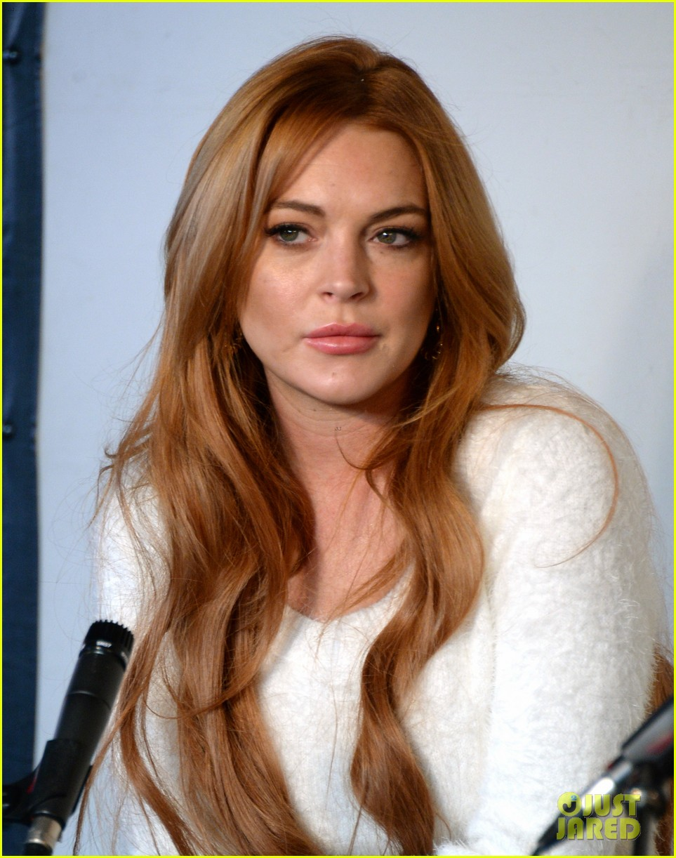 lindsay lohan announces new film inconceivable at sundance 06
