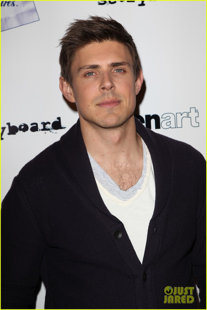 chris lowell rose mciver brightest star premiere 16