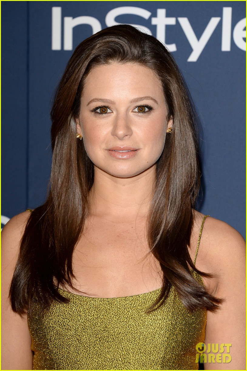 katie lowes bellamy young scandal at instyle golden globes party 2014 13