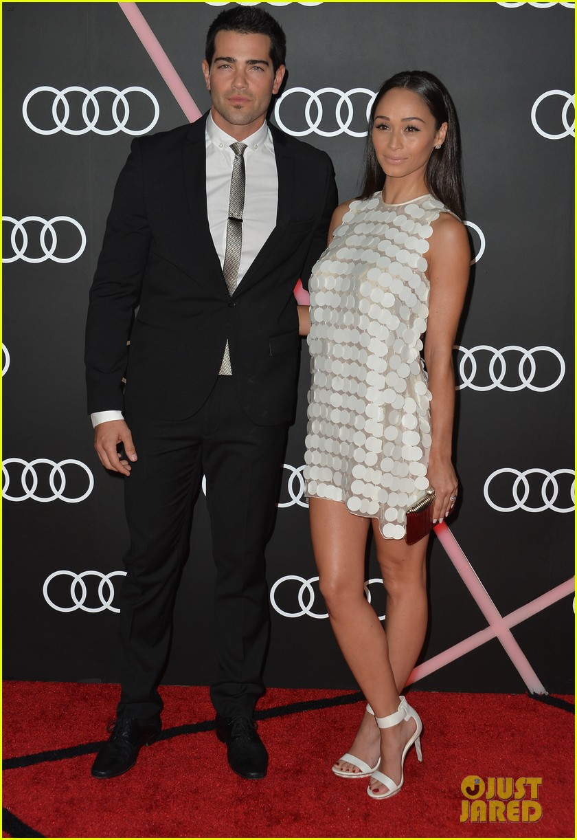 ashley madekwe jesse metcalfe audis golden globes party 05