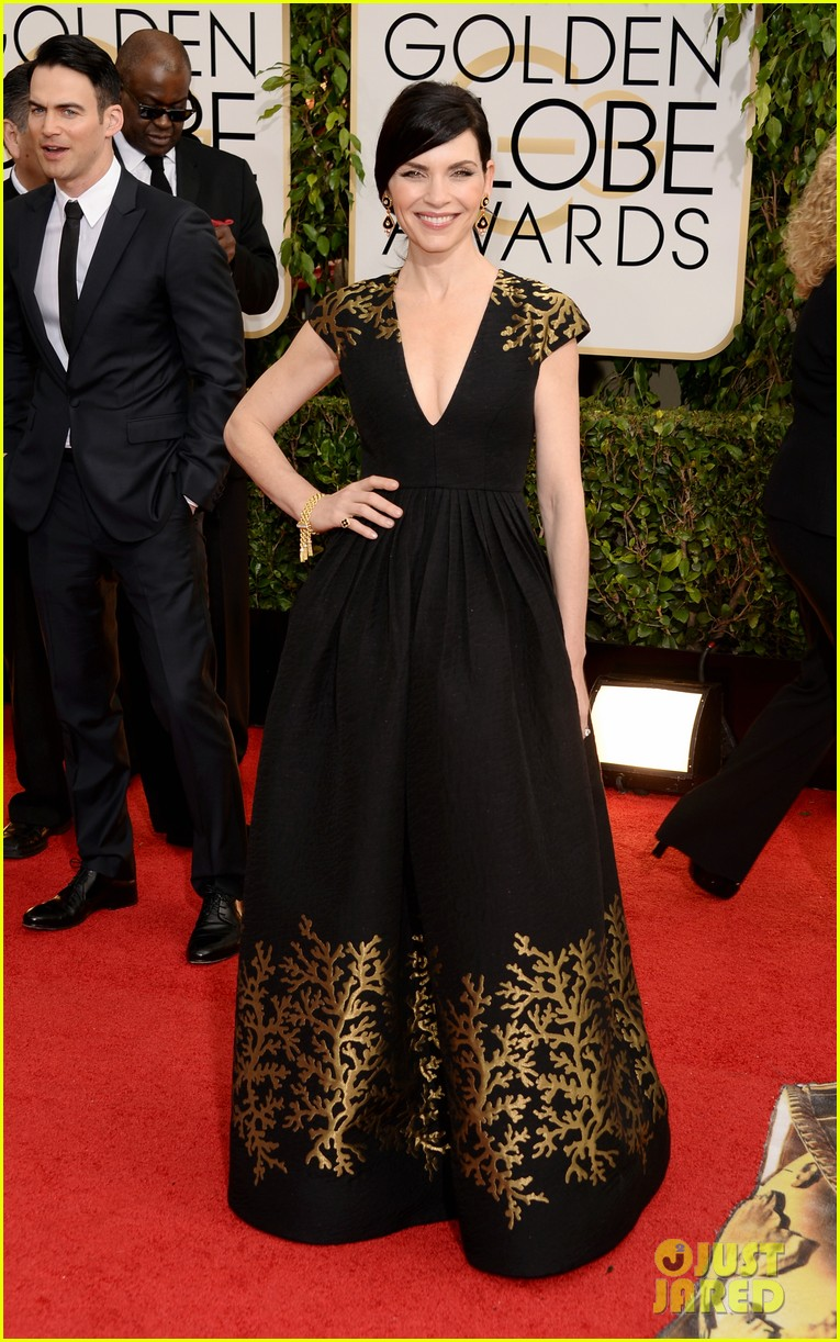 julianna margulies golden globes 2014 red carpet 013029465