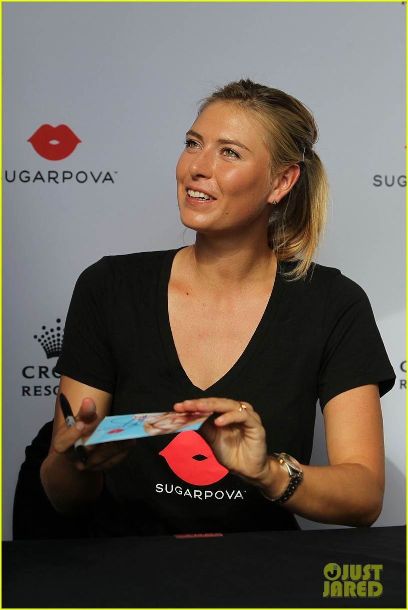 maria sharapova roger federer australia open events 183027045