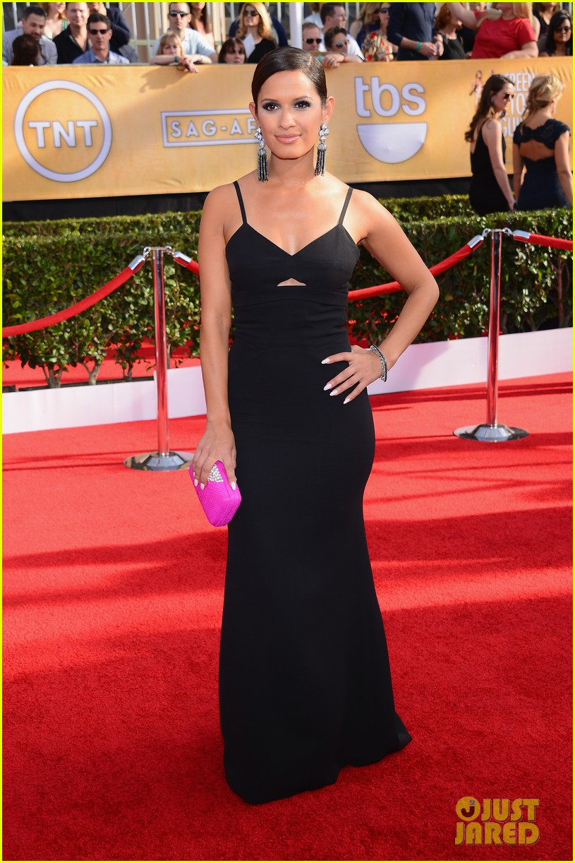 mario lopez nancy odell sag awards 2014 red carpet 153034558