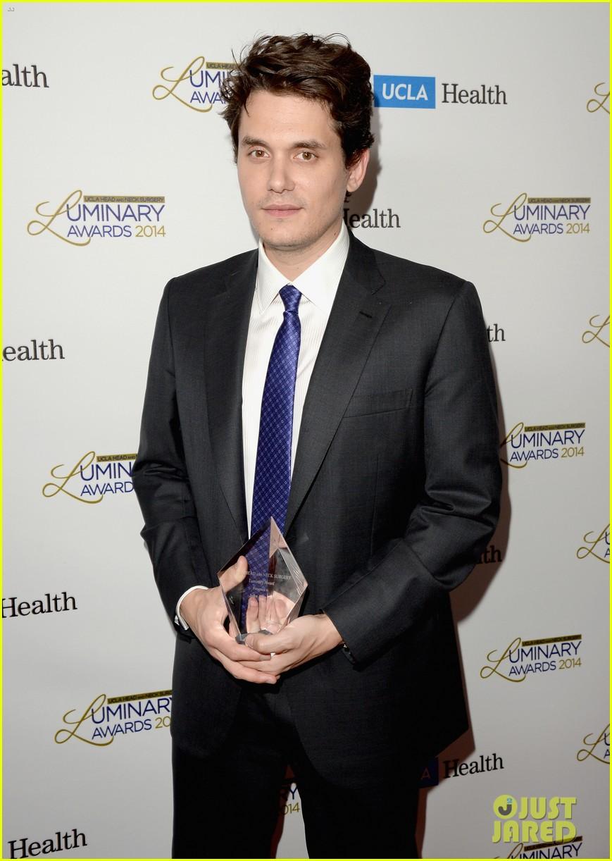 john mayer celine dion ucla luminary awards 2014 05