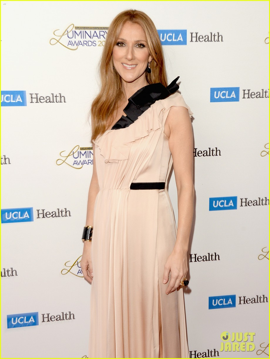 john mayer celine dion ucla luminary awards 2014 08