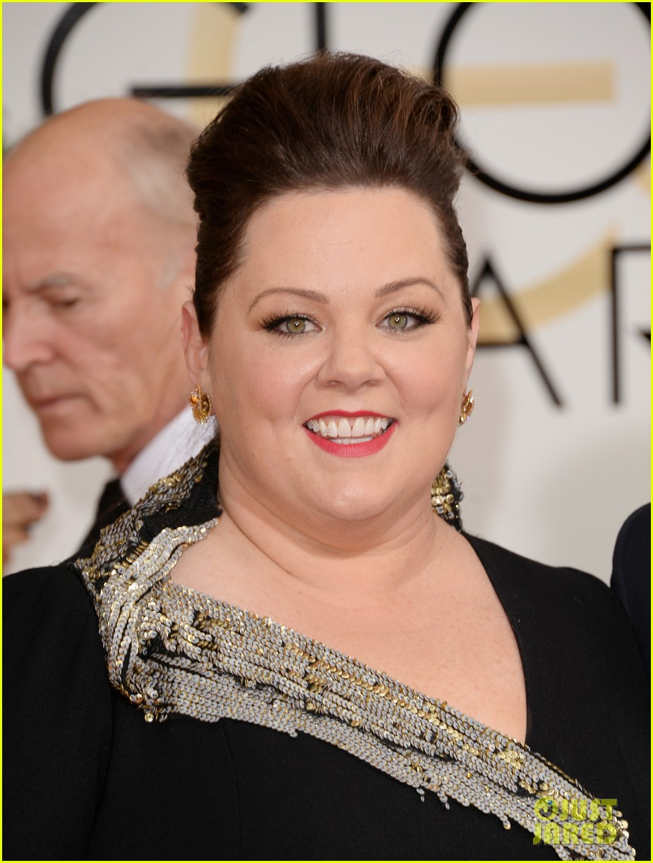 melissa mccarthy golden globes 2014 with ben falcone 02