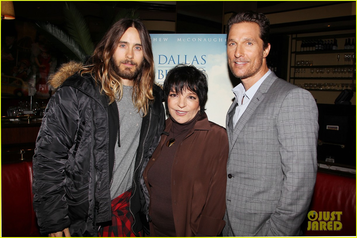 matthew mcconaughey jared leto dallas luncheon in nyc 09