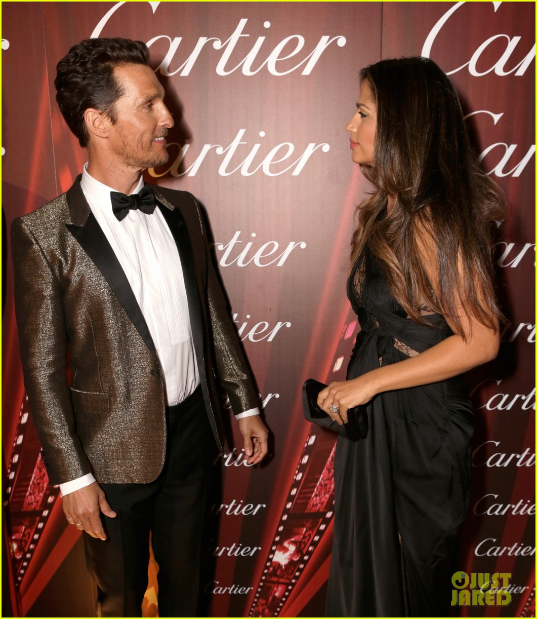 matthew mcconaughey camila alves palm springs film festival awards gala 2014 11