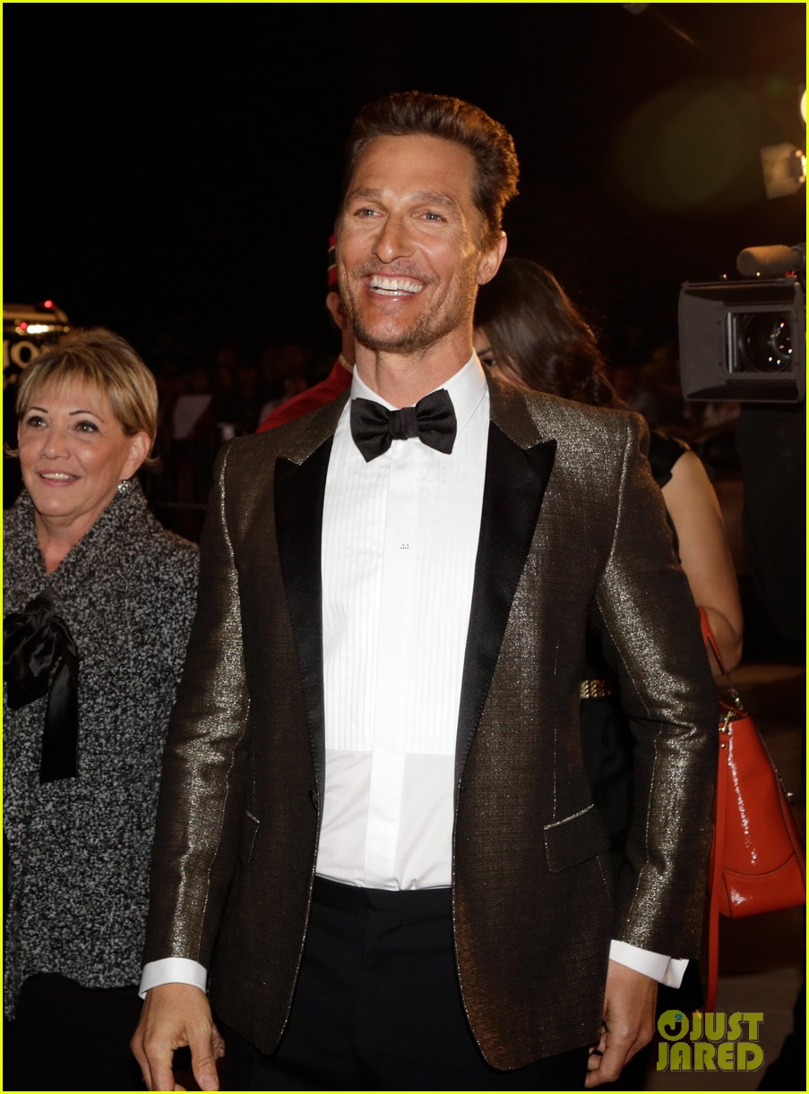 matthew mcconaughey camila alves palm springs film festival awards gala 2014 15