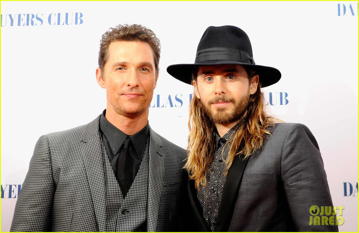 matthew mcconaughey jared leto reunite for dallas buyers club uk premiere 05