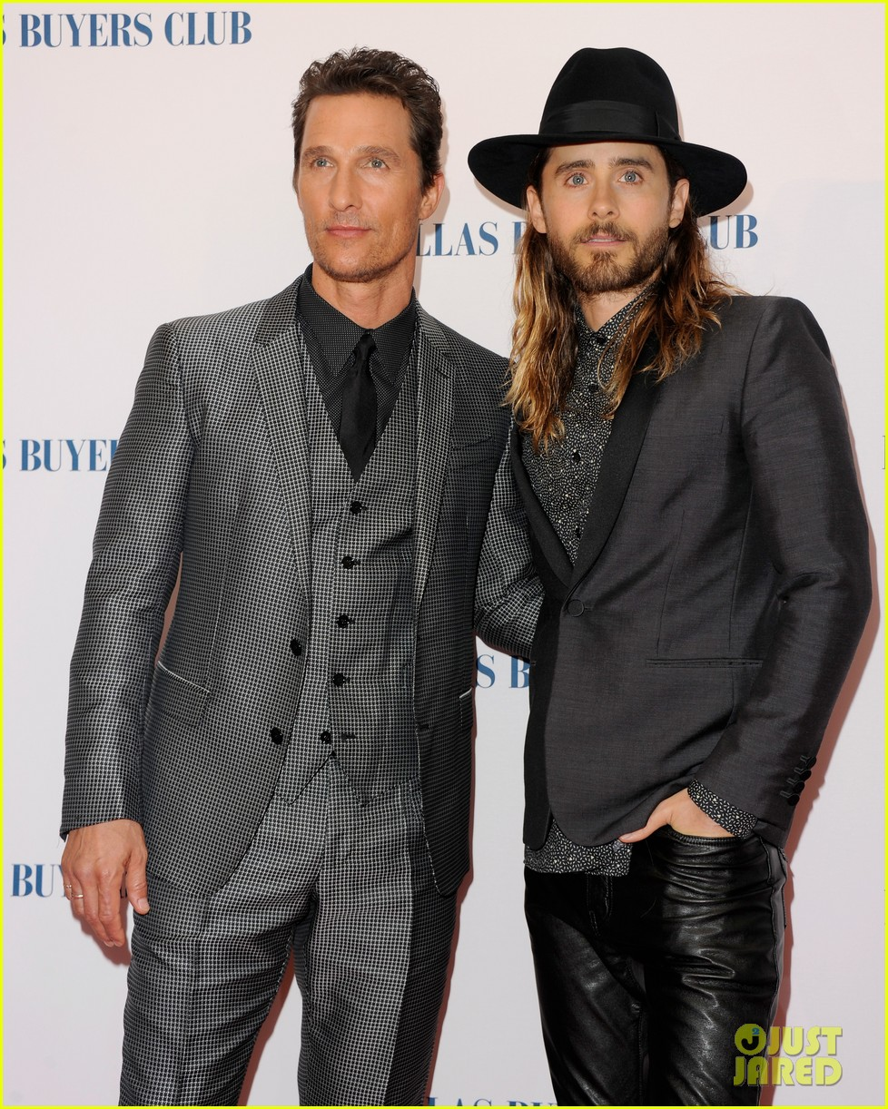 matthew mcconaughey jared leto reunite for dallas buyers club uk premiere 083043618