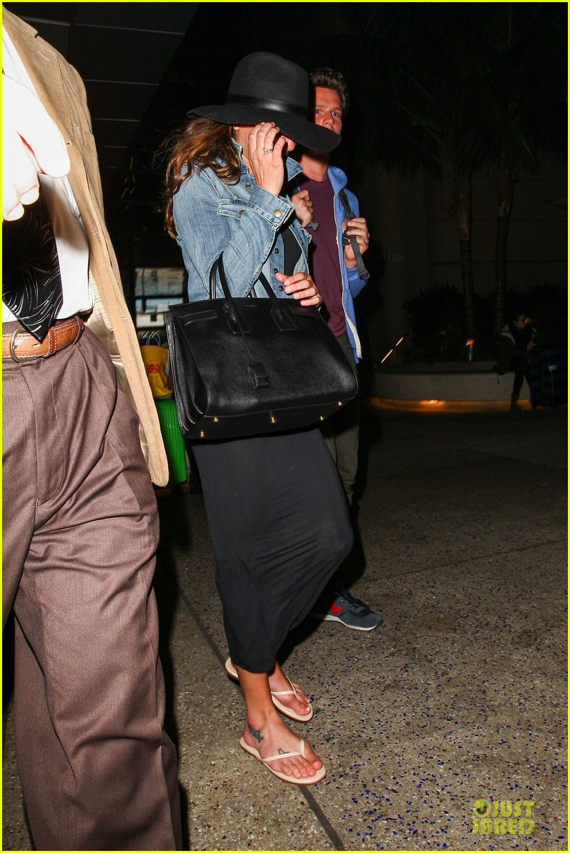 lea michele lax arrival after bikini week in mexico 093022399