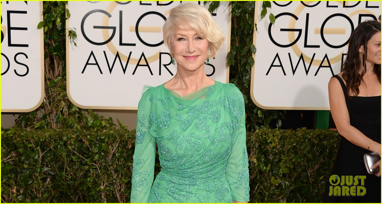 helen mirren golden globes 2014 red carpet 053029527