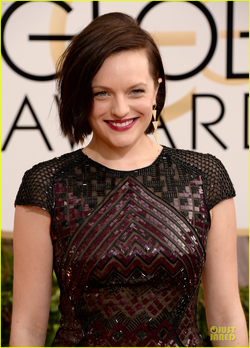 elisabeth moss golden globes 2014 red carpet 02