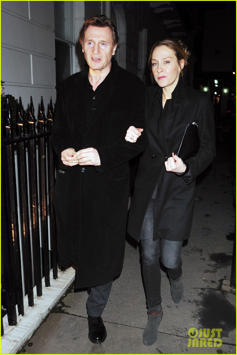 liam neeson girlfriend freya st johnston date night in london 053044852