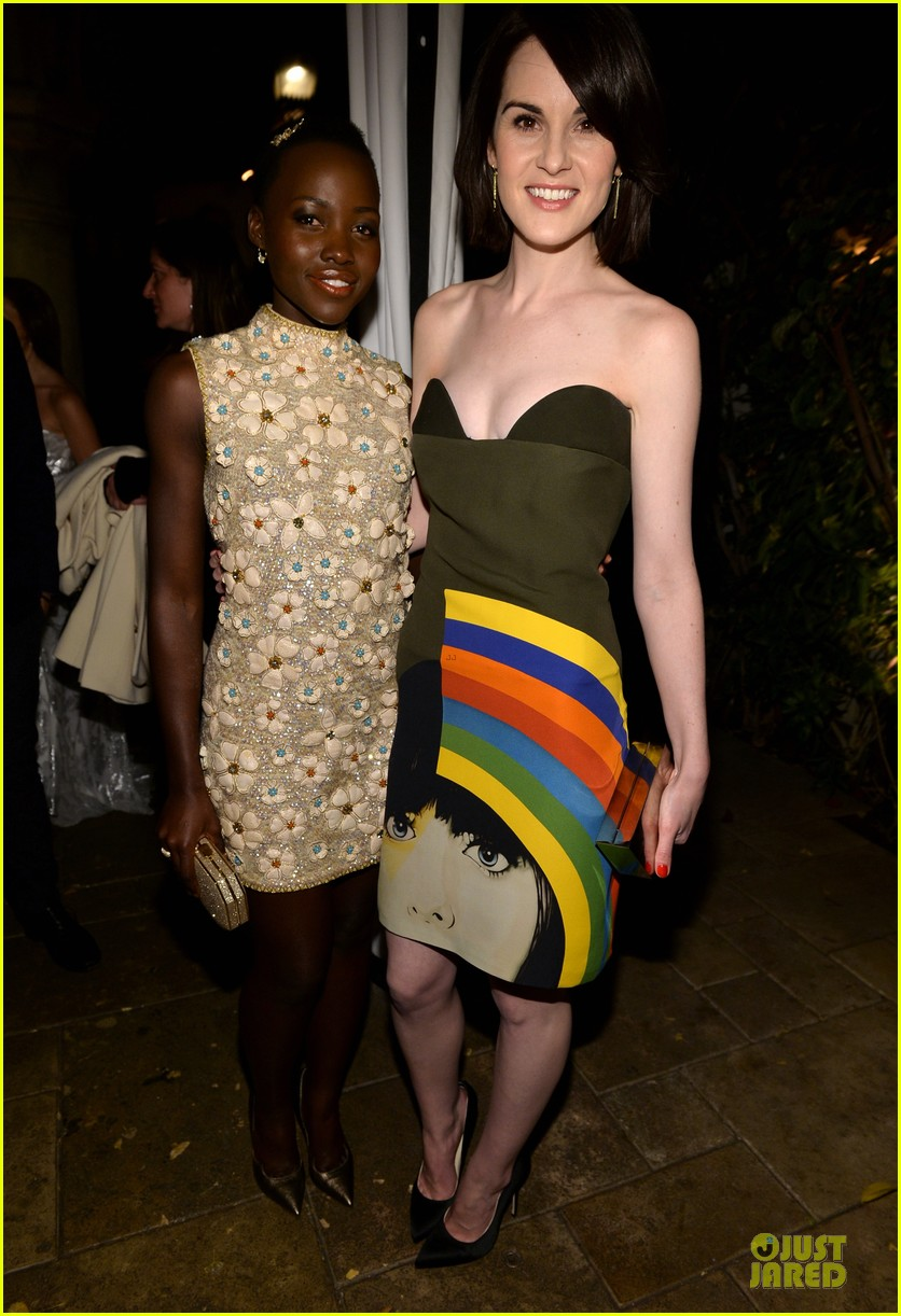 lupita nyongo michelle dockery ew sag nominees party 01