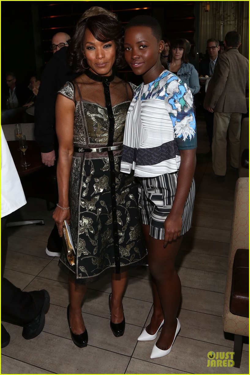 lupita nyongo emily mortimer spirit awards nominees brunch 03