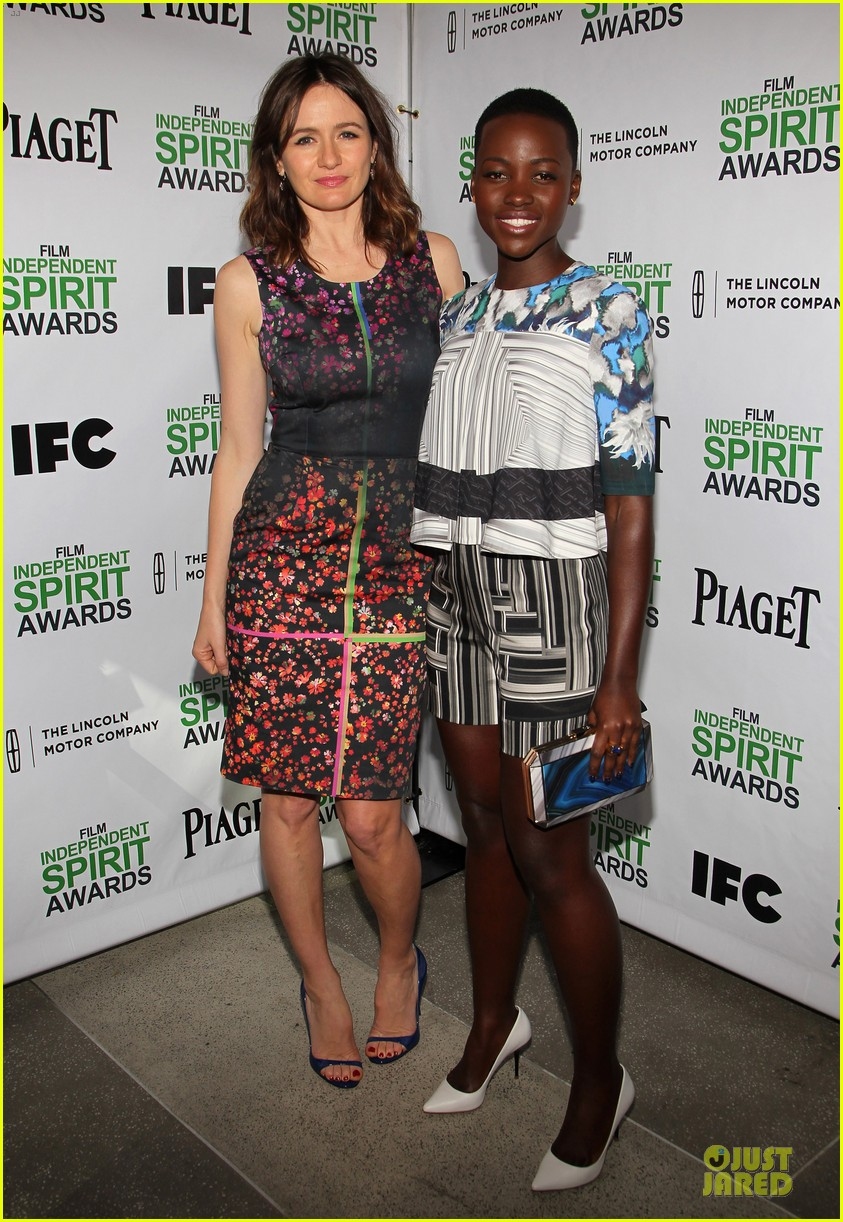 lupita nyongo emily mortimer spirit awards nominees brunch 20