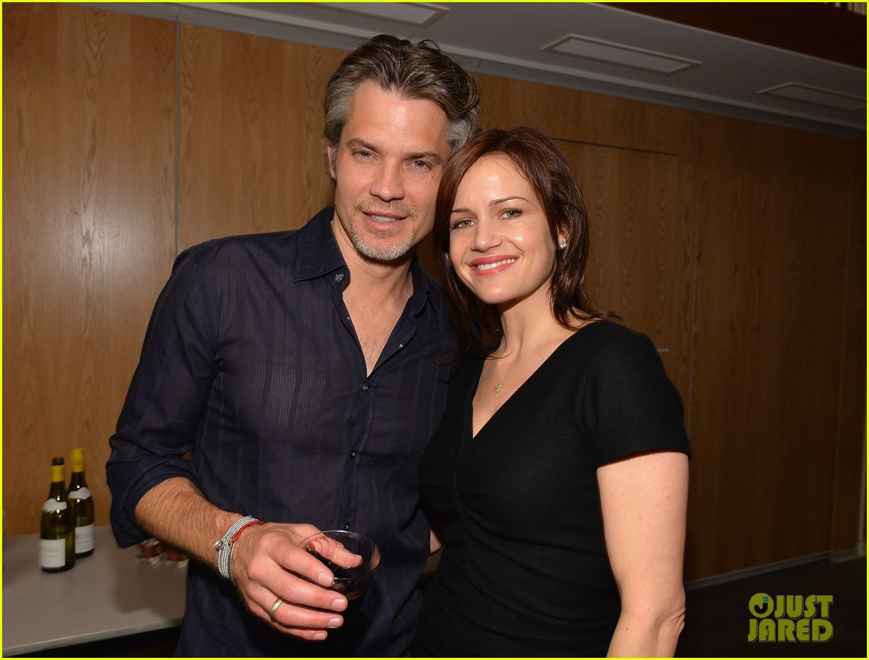 timothy olyphant carla gugino a tribute to elmore leonard 113037561