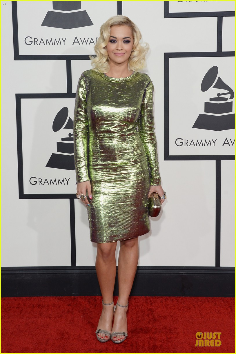 rita ora grammys 2014 red carpet 03