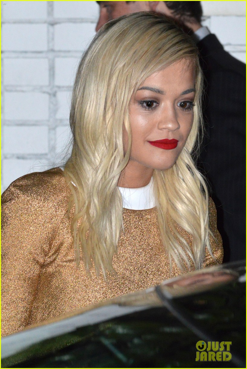 rita ora iggy azalea friends n family pre grammy dinner 13
