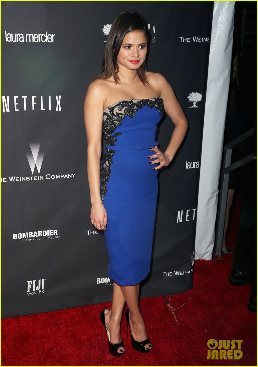 ahna oreilly melonie diaz weinstein golden globes party 2014 083030203