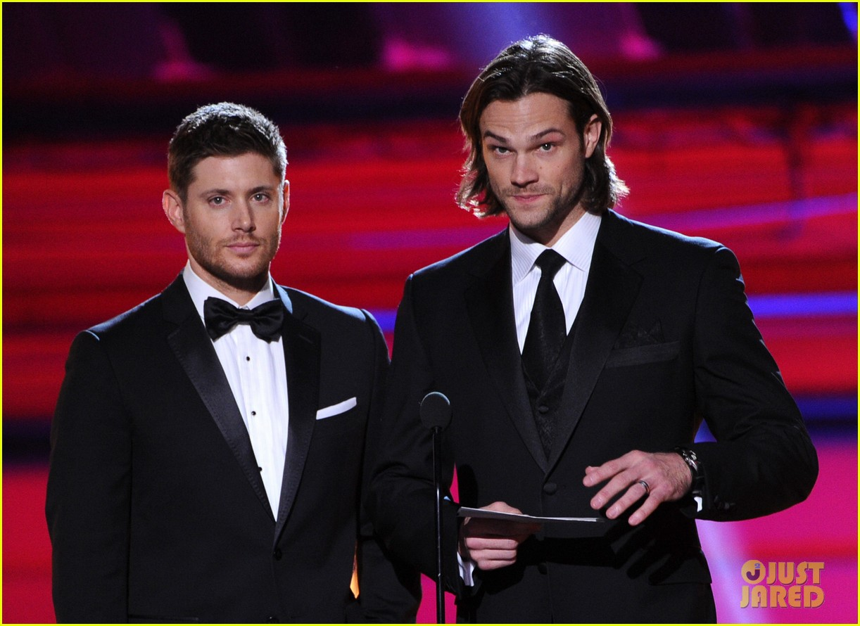 jared padalecki jensen ackles critics choice awards 2014 03
