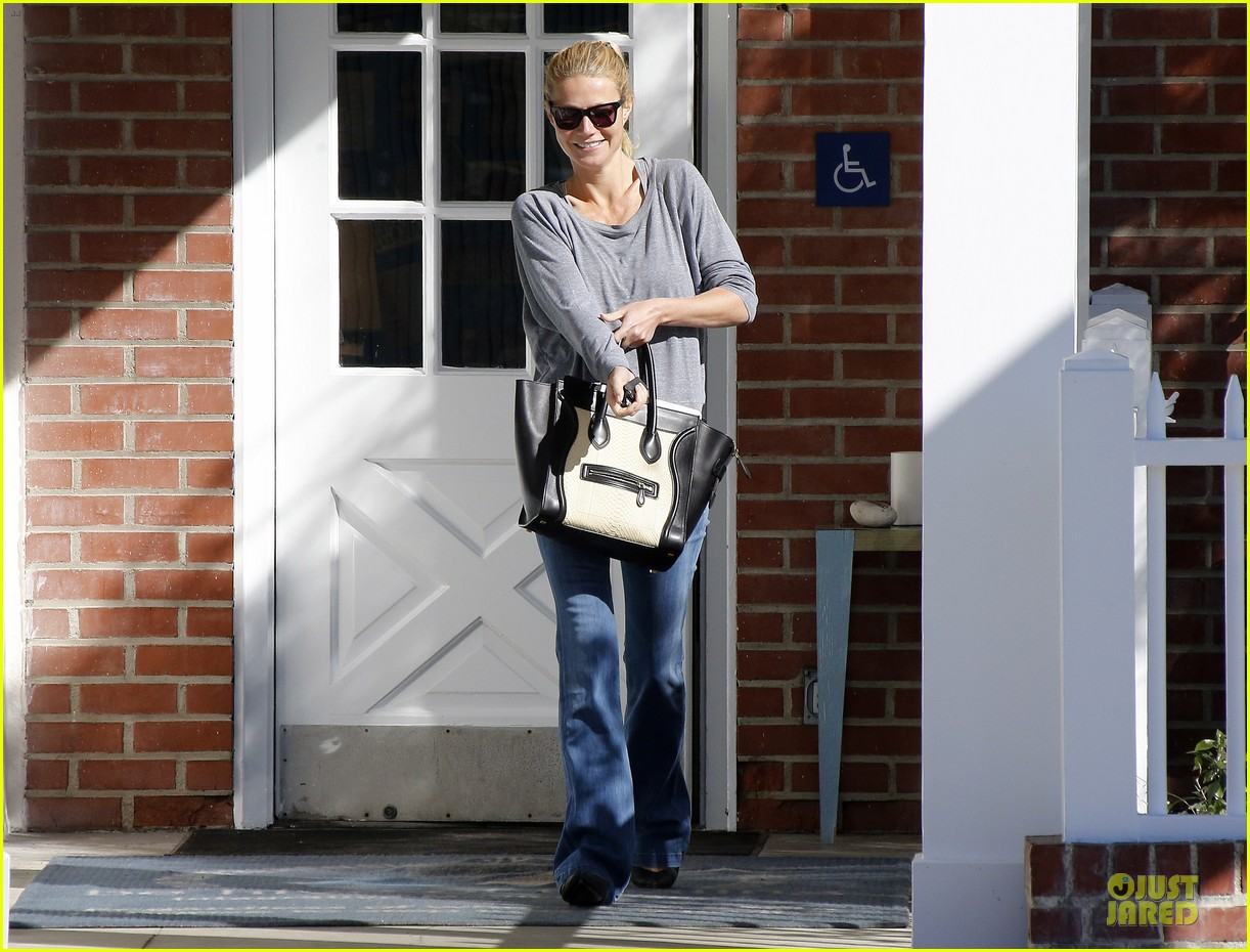 gwyneth paltrow medical building visit after the golden globes 133033858