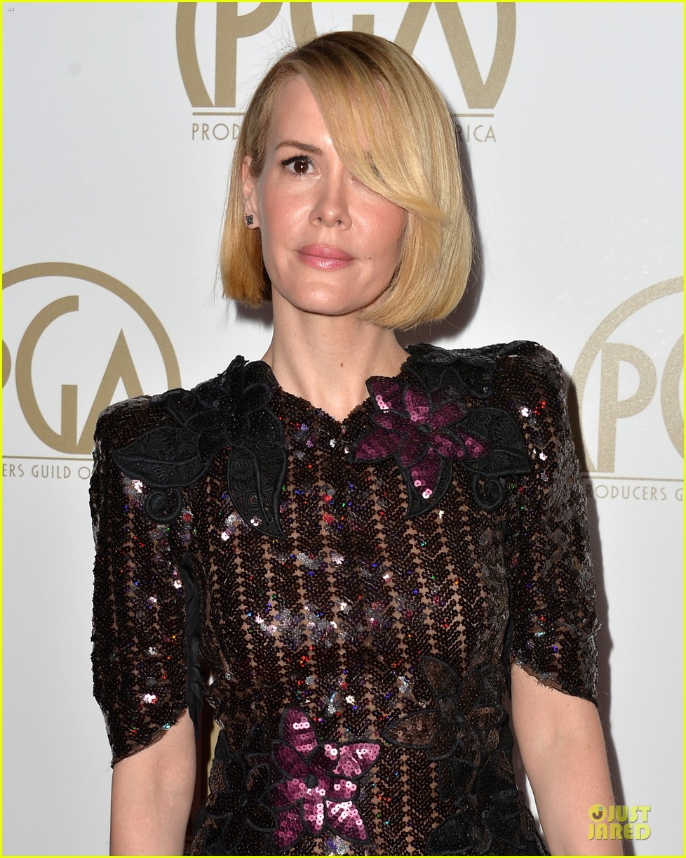 sarah paulson gillian anderson producers guild awards 2014 20